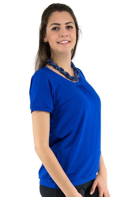 Tuniquete Manga Curta Marinheiro Lisa Azul Bic