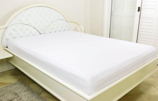 Lençol Malha Casal Queen 230 x 270 cm Branco