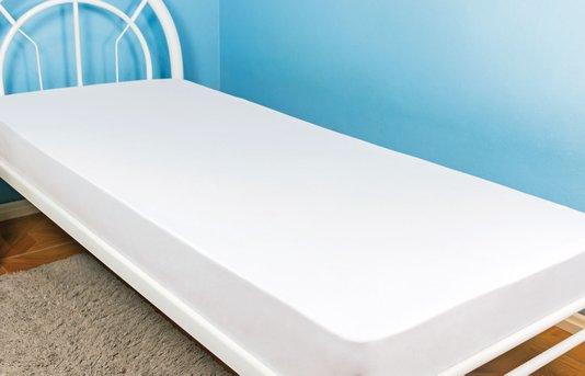 Lençol Malha Solteiro 140 x 240 cm Branco