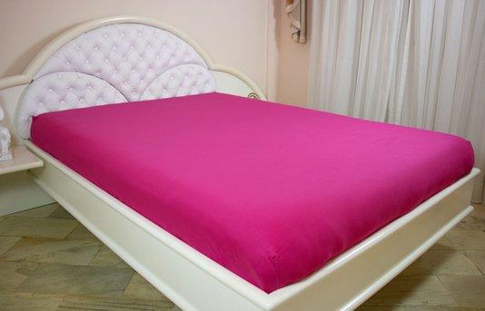 Lençol Malha Casal Queen 230 x 270 cm Pink
