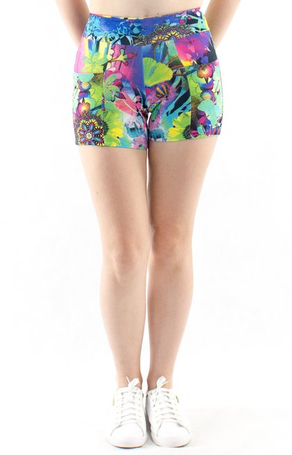 Shorts Fitness Suplex Estampa Mandala Azul