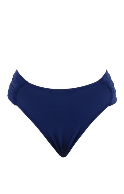 Calcinha Biquíni Cida Lisa Azul Marinho