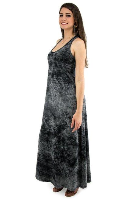 Vestido Tuca Viscolycra Estonado Preto