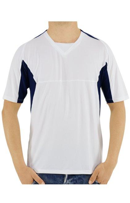 Camiseta Manga Curta Dry Fit Branca