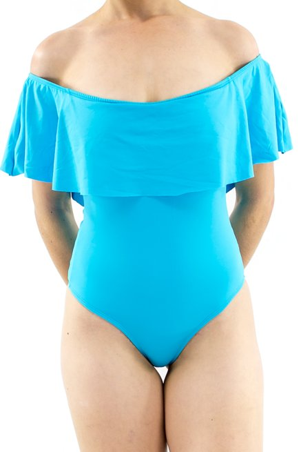 Maiô Cigana Liso Azul Piscina