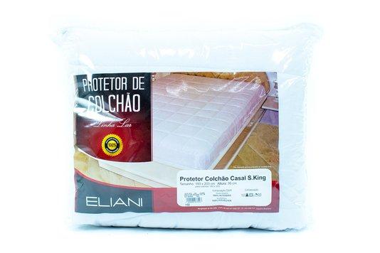 Protetor de Colchão TecidoMatelado Casal Super King193x203cmcom Elástico