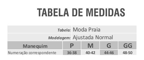 Maiô Bojo Amanda Saia Frente Única Estampa Geométrica Preto