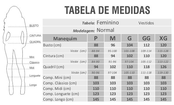 Vestido Marcolina Manga Curta Viscolycra Estampa Portuguesa