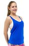 Regata Fitness Dry Fit Lisa Azul