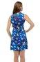 VestidoRegata Lair Estampa Borboletas Azul